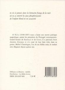 Al Berto – Le Livre des Retours