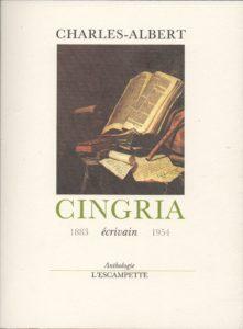 Anthologie, Cingria