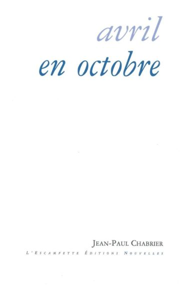 Avril en octobre