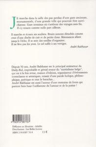 Balthazar André – Les Pas perdus