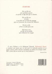 Bennis Mohammed – Le Don du vide