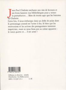 Chabrier Jean-Paul – Autobiographie d'une arme à feu