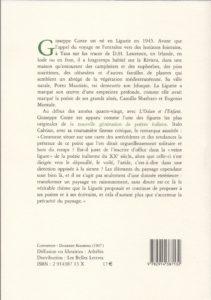 Conte Giuseppe – Villa Hanbury