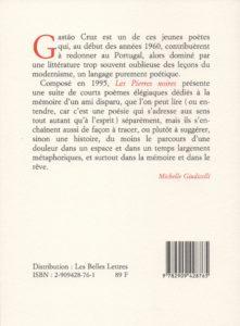 Cruz Gastao – Les Pierres noires