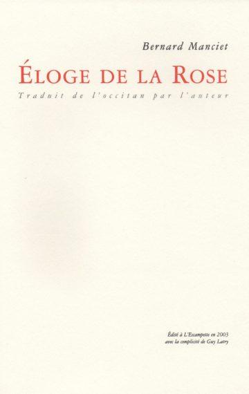 Eloge de la rose