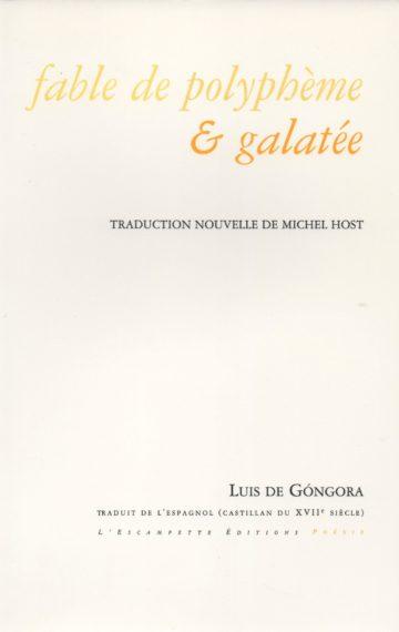 Fable de Plyphème & Galatée