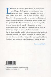 Fabre G Sylvie – Tombées des lèvres