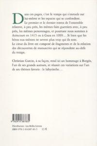 Garcin Christian – Le scorpion de Benvenuto