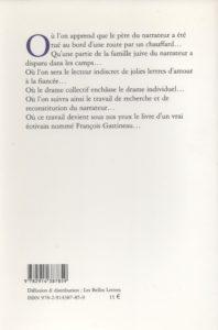 Gastineau Francois – Le temps des ersatz
