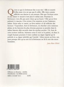Ghitti Jean-Marc – L'écriture des pins