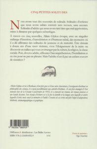 Glykos Allain – Cinq petites solitudes