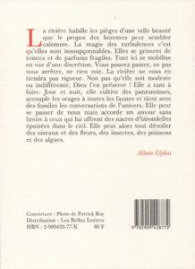 Glykos Allain – Mémoires de l'eau