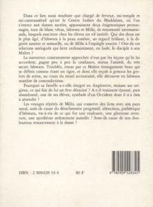 Jacquemard Simone – La Gloire d'Ishwara