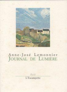 Journal de lumière, Anne-José Lemonnier