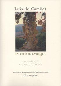 La poésie lyrique, Camoes