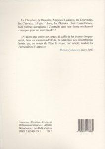 Manciet Bernard – Aratea