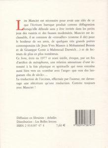 Manciet Bernard – La Proie