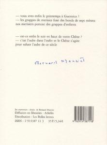 Manciet Bernard – Le dire de Guernica