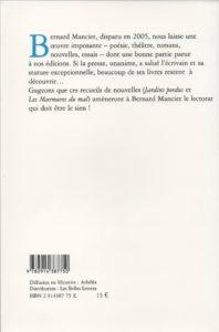 Manciet Bernard – Les Murmures du mal
