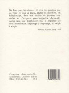 Manciet Bernard – Les Vigilantes