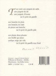 Manciet Bernard – Pour l'enfant de Bassora