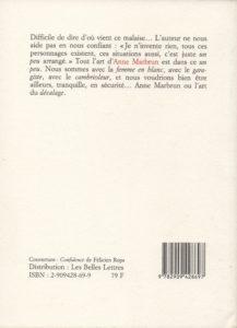 Marbrun Anne – La Tache