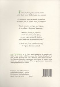 Masson Jean-Yves – Poèmes du festin céleste