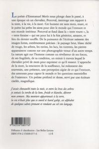 Merle Emmanuel – Dernières paroles de Perceval