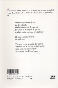 Merle Emmanuel – Ici en exil