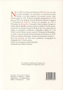 Nemesio Vitorino – La Voyelle promise