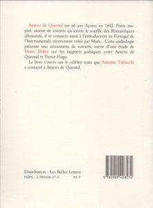 Quental (de) Antero – Tourment de l'idéal