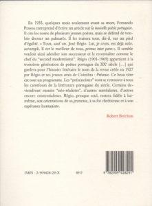 Régio José – Le Fertille désespoir
