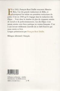 Rilke Rainer Maria – Elégies de Duino