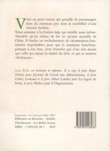 Rolin Jean – La Frontière belge