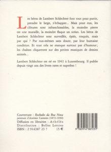 Schlechter Lambert – Partances