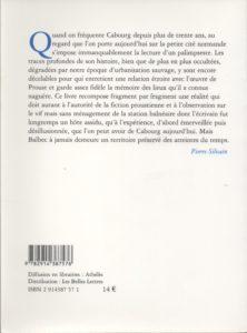 Silvain Pierre – Le coté de Balbec