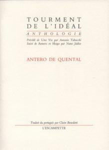 Tourment de l'idéal, Quental