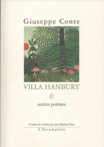 Villa Hanbury, Giuseppe Conte