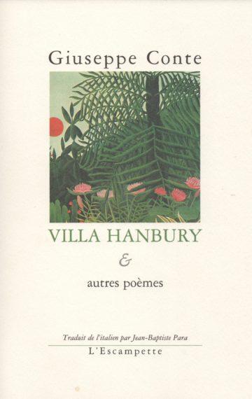 Villa Hanbury et autres poèmes