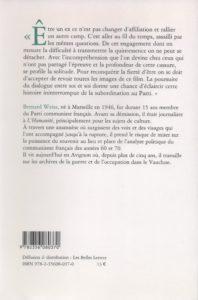 Weisz Bernard – Une voix communiste